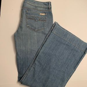 "Grass brand jeans ""Latigo"" flare boho hippie style"